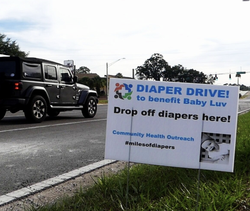 WeCareJax Partner, Community Health Outreach, launches diaper & formula drive to help mothers and children in need
